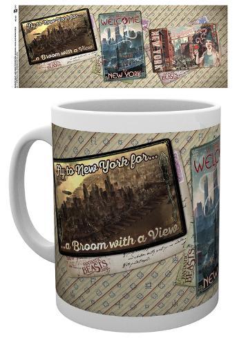 Fantastic Beasts - Postcards Mug Becher