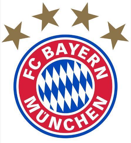 Fc Bayern Mnchen Logo Muursticker Bij Allposters