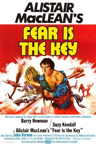 Fear Is the Key Kunstdruck