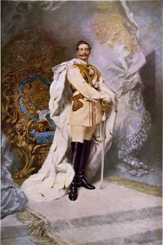 Wilhelm II, 1893 Giclée-Druck