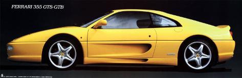 Ferrari 355 Gts Poster
