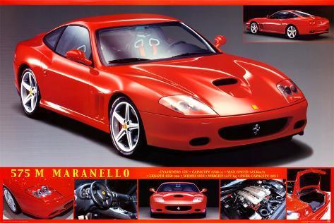 Ferrari 575 Poster