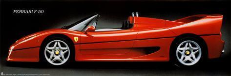 Ferrari F 50 Poster