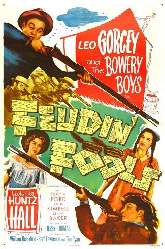 Feudin' Fools Kunstdruck