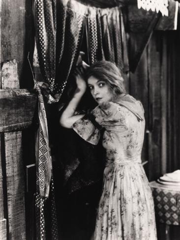 Filmbeeld Lillian Gish in The Wind, 1928 Fotoprint