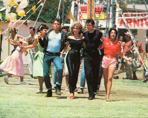 Filmbeeld uit Grease, 1978 Foto
