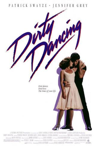 Filmposter Dirty Dancing, 1987 Masterprint