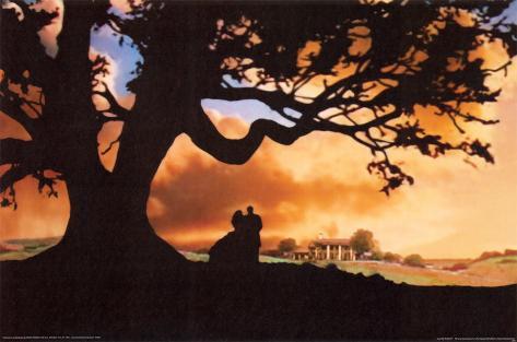Filmposter Gejaagd Door De Wind Gone With The Wind 1939 Poster Bij