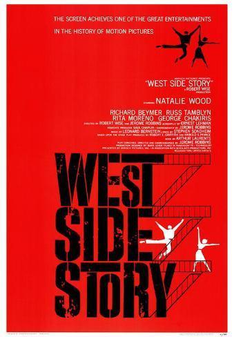 Filmposter West Side Story Masterprint