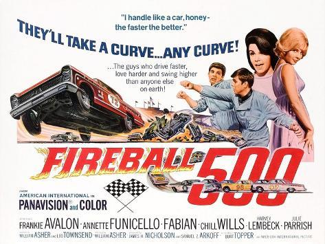 Fireball 500 Kunstdruck