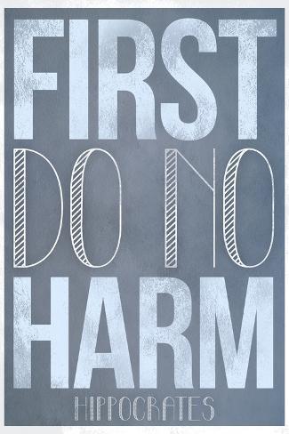Afbeeldingsresultaat voor first do no harm