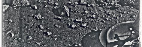 First Image Taken from the Surface of Mars by the Viking 1 Lander on July 20, 1976 Foto