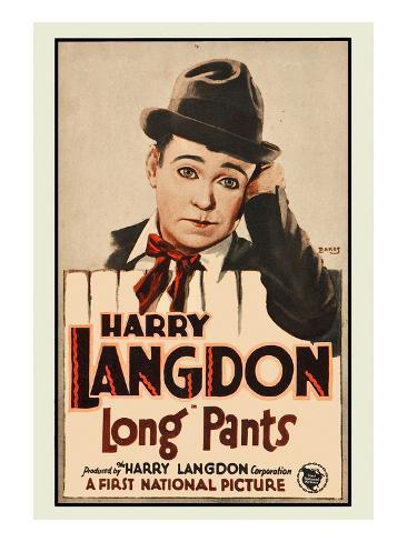 Long Pants Kunstdruck