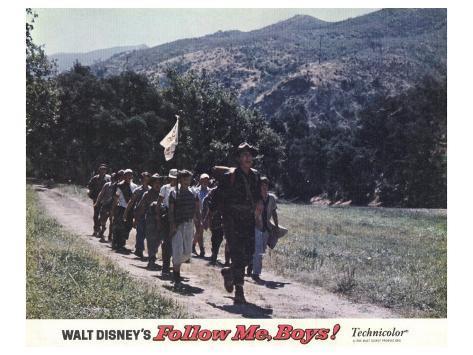 Follow Me Boys, 1966 Kunstdruck