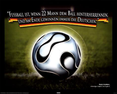 Football Is Mini-Poster
