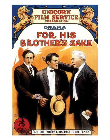 For His Brother's Sake - 1914 Giclée-Druck