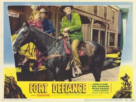 Fort Defiance, 1951 Giclée-Premiumdruck