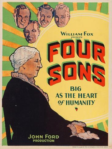 Four Sons Kunstdruck