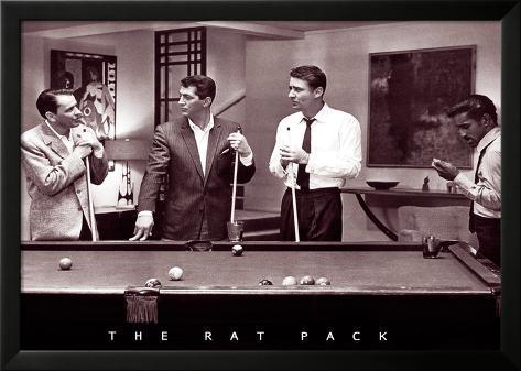 Frank, Dean und Sammy tun es Laminiertes gerahmtes Poster
