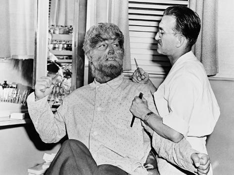Frankenstein Meets the Wolf Man, 1943 Fotografie-Druck