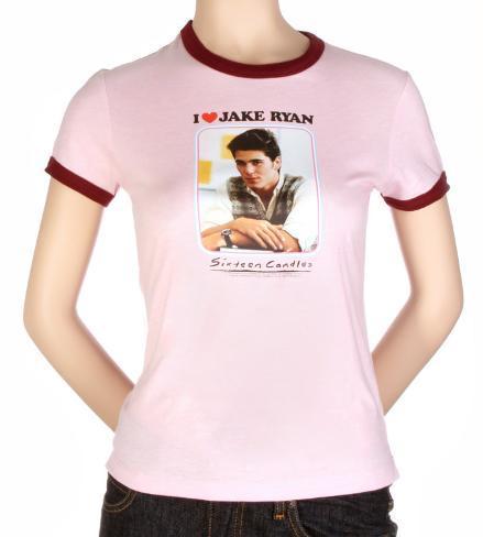Frauen-Shirt: Sixteen Candles – I liebe Jake Transfer T-Shirt für Teenager (schmal)