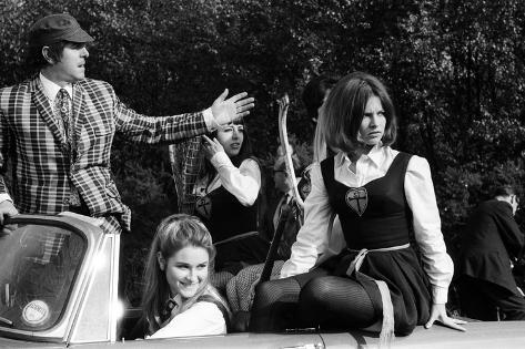 The Great St Trinian's Train Robbery, 1965 Fotografie-Druck