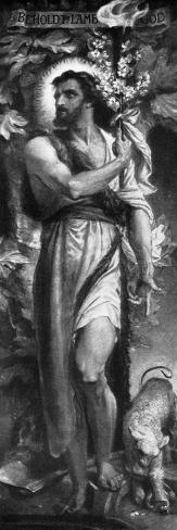 John the Baptist, 1926 Giclée-Druck