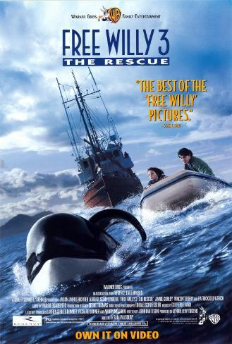 Free Willy 3 Poster