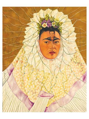 portrait as tehuana 1943 kunst von frida kahlo bei. Black Bedroom Furniture Sets. Home Design Ideas