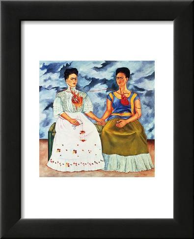 The Two Fridas C1939 Poster Von Frida Kahlo Allpostersat