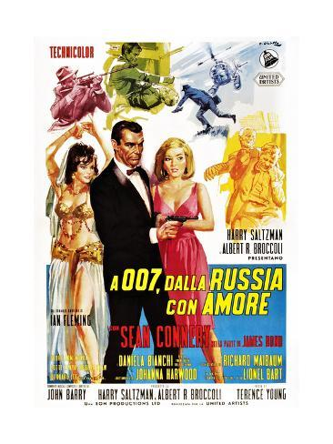 From Russia with Love (aka Desde Rusia Con Amor) Kunstdruck