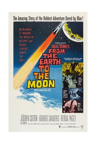 From the Earth to the Moon [TV-Mini-Serie] Giclée-Druck