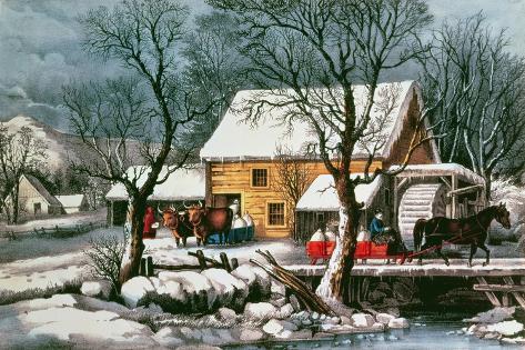Frozen Up, 1872 Giclée-Druck