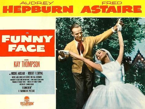 Funny Face, 1957 Kunstdruk