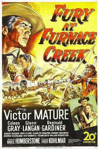 Fury at Furnace Creek Kunstdruck