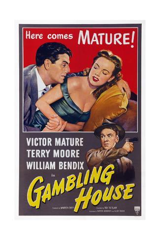 Gambling House Giclée-Druck