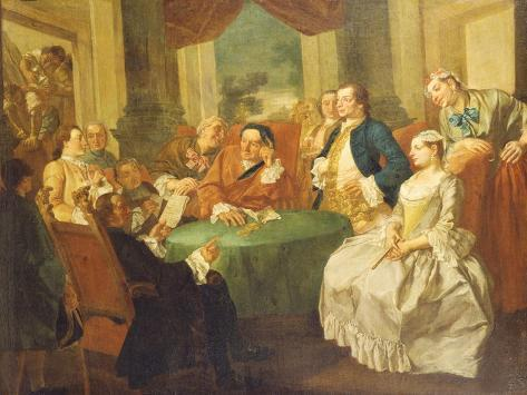 The Marriage Contract Giclée-Druck