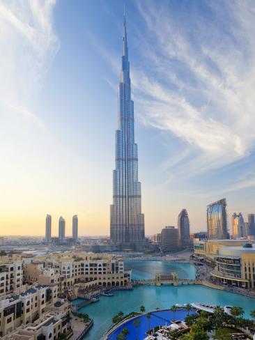 United Arab Emirates Uae Dubai The Burj Khalifa Premium
