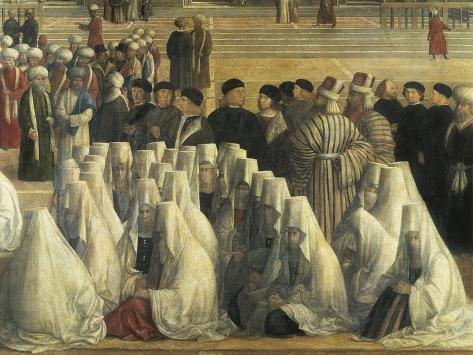 St Mark Preaching in Alexandria, Egypt, 1504-1507 Giclée-Druck