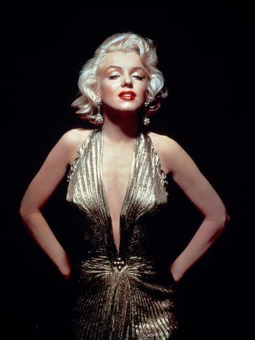 Gentlemen Prefer Blondes, Marilyn Monroe, Directed by Howard Hawks, 1953 Fotografie-Druck