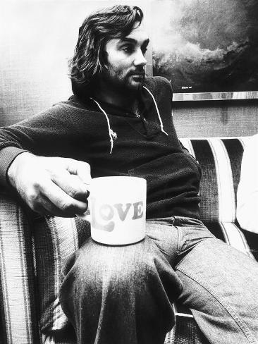 George Best Footballer For Fulham 1976 Fotografie-Druck