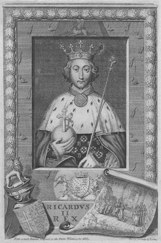 King Richard II, 1735 Giclée-Druck