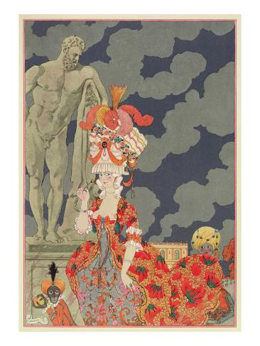 Fashion at its Highest, 1927 Giclée-Druck