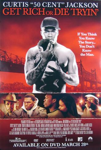 Get Rich Or Die Tryin Originalposter