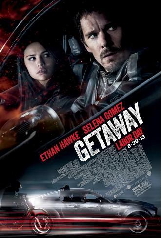 Getaway Movie Poster - Selena Gomez Doppelseitiges Poster