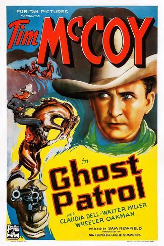 Ghost Patrol Kunstdruck
