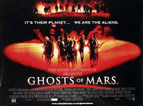 Ghosts Of Mars Originalposter