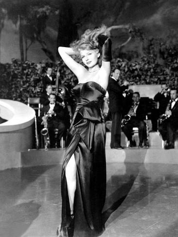 Gilda, Rita Hayworth, 1946, 'Put the Blame on Mame' Foto