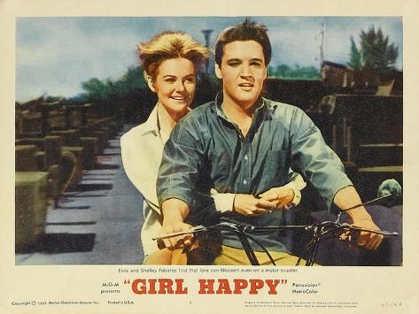 Girl Happy, 1965 Kunstdruck