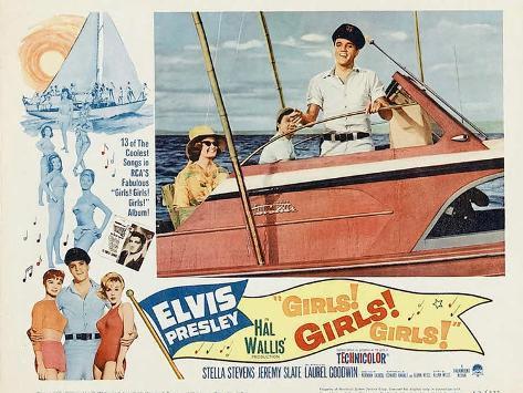 Girls! Girls! Girls!, 1962 Kunstdruck